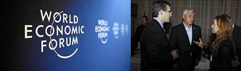 Chapines en Davos